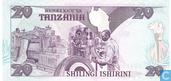 Billets de banque - Benki Kuu Ya Tanzania - Tanzanie 20 Shilingi
