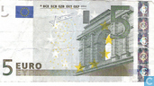 Banknoten  - Eurozone - 2002 Dated 'Signature J.C. Trichet' Issue - Eurozone 5 Euro V-M-T