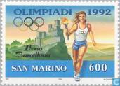 Postzegels - San Marino - Olympische Spelen- Barcelona