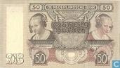 1941 50 Niederlande Gulden
