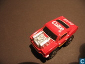 Modellautos - Onbekend - Ford Mustang Coca-Cola