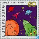 Postage Stamps - Luxembourg - Into the future