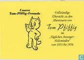 """Bandes dessinées - Tom Pouce - Vollständige Übersicht zu den Abenteuern von Tom Pfiffig im """"Täglicher Anzeiger-Holzminden"""" von 1953 bis 1956"""