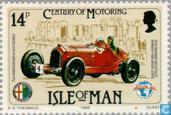 Postage Stamps - Man - Cars 1885-1985