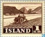 Postzegels - IJsland - Landschappen
