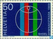 Postage Stamps - Switzerland [CHE] - Gymnaestrada fifth Basel