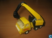 Model cars - Tonka - Tiny Tonka digger (yellow)