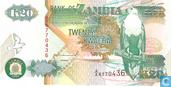 Zambia 20 Kwacha 1992 (P36a)