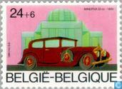 Timbres-poste - Belgique [BEL] - Anciennes voitures belges
