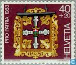 Postzegels - Zwitserland [CHE] - Uithangborden