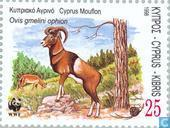 Postage Stamps - Cyprus [CYP] - WWF-The Cyprus Mouflon