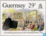 Postzegels - Guernsey - Wesley, John