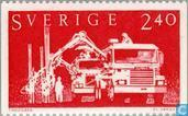 Postage Stamps - Sweden [SWE] - 240 red