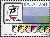 Postzegels - Italië [ITA] - Giro d'Italia 75 jaar