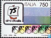 Postage Stamps - Italy [ITA] - Giro d'Italia 75 years