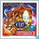 Postage Stamps - Austria [AUT] - Europe – The Circus