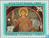 Postzegels - Cyprus [CYP] - Kerstmis- Fresco's