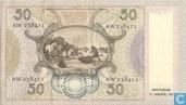 Billets de banque - Tableaux Pays-Bas - 50 florins néerlandais 1941