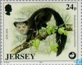 Postzegels - Jersey - Natuurbescherming