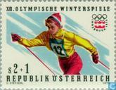 Timbres-poste - Autriche [AUT] - Jeux olympiques d'Innsbruck-