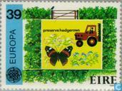 Postage Stamps - Ireland - Europe – Nature conservation