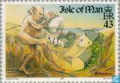 Postage Stamps - Man - Europe – Tales and legends