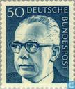 Postage Stamps - Germany, Federal Republic [DEU] - Heinemann, Dr. Gustav 1899-1976