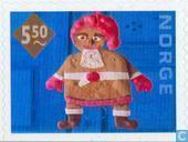 Briefmarken - Norwegen - Weihnachten
