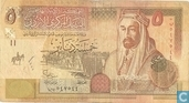 Banknotes - Central Bank of Jordan - Jordan 5 Dinar 2002