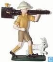Tintin Explorateur avec Milou