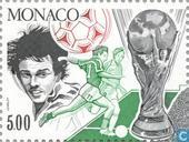 Postage Stamps - Monaco - World Cup Soccer