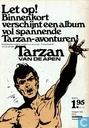 Bandes dessinées - Tarzan - De toren van Sheba en De truuk met de apenhuid