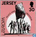 Postage Stamps - Jersey - Europe – Peace and freedom