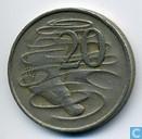 Coins - Australia - Australia 20 cents 1967