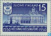 Postage Stamps - Finland - 400 years Helsinki