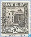 Timbres-poste - Andorra - Bureaux espagnols - motifs locaux
