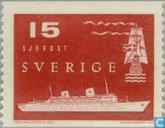 Timbres-poste - Suède [SWE] - Mer- et helicopterpost