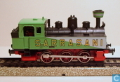 "Model trains / Railway modelling - Märklin - Tenderloc ""Circus Sarrasani"""