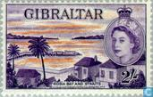 Postage Stamps - Gibraltar - Views