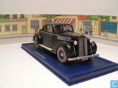 """Modelauto's  - Atlas - De Packard van koning Muskar uit """"De Scepter van Ottokar"""""""