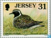 Timbres-poste - Jersey - Oiseaux