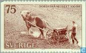 Timbres-poste - Suède [SWE] - 100 ans Musée nordique