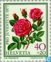 Postage Stamps - Switzerland [CHE] - Roses