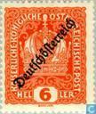 """Timbres-poste - Autriche [AUT] - Imprimer """"Deutsch Österreich"""