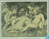 Postzegels - België [BEL] - Schilderijen van Rubens