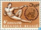 Postage Stamps - Belgium [BEL] - Human Rights
