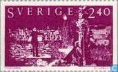 Timbres-poste - Suède [SWE] - 240 violet