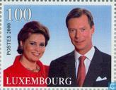 Postage Stamps - Luxembourg - Accession to the throne Prince Henry
