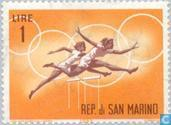 Postage Stamps - San Marino - For Olympics