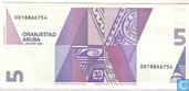 Billets de banque - Aruba - 1990 Issue - Aruba 5 Florin 1990